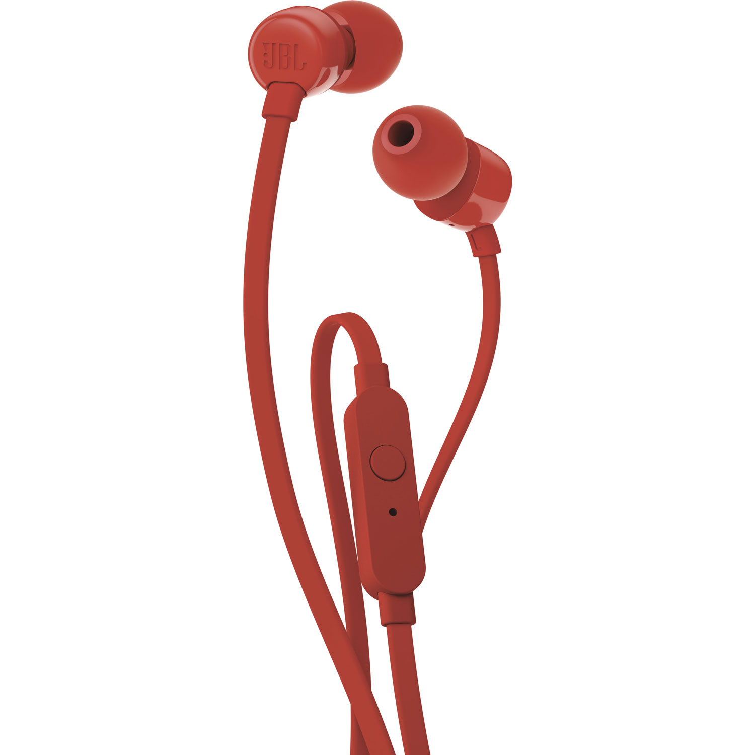 JBL T110 In Ear Headphones Red